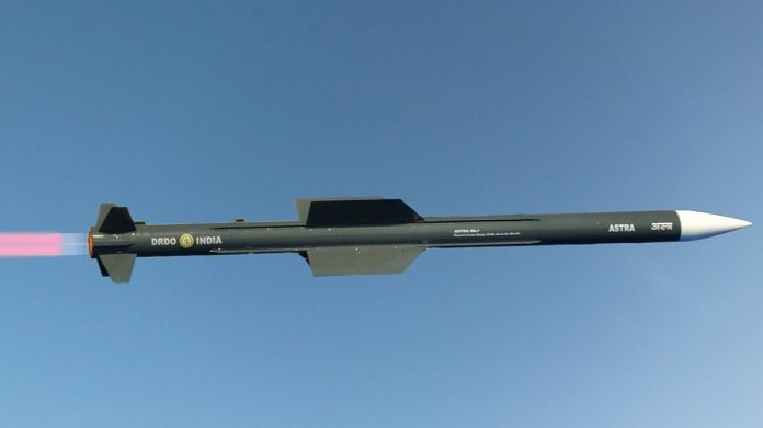 Astra Mk1 Integration with Tejas Nears Completion, Both Israeli FCR to be Enabled