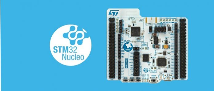 NUCLEO-WB55RG, a Simpler Development Board for the STM32WB MCU