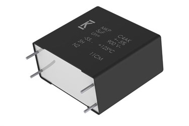 Power DC-Link film capacitor targets automotive and green energy applications
